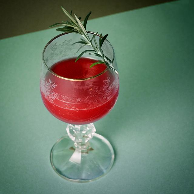 Absentroux & Rapsberry Martini