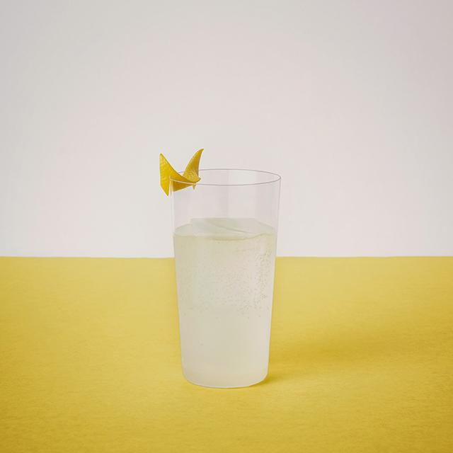 Eau de vie Cidre  Lemon sour